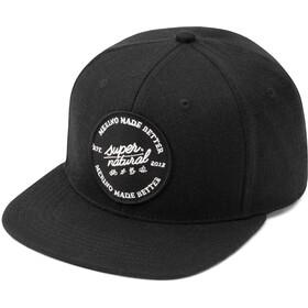 super.natural Signature Cap jet black